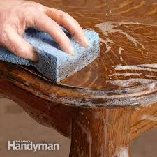 a thorough cleaning is an important first step in any furniture renewal project removing decades antique furniture cleaning