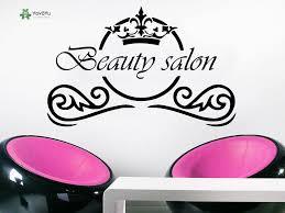 <b>YOYOYU</b> Wall Decal Fashion <b>Cosmetic</b> Hairdressing <b>Beauty</b> Salon ...