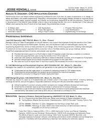 cad designer resume template cad designer resume