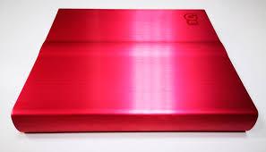 <b>Внешний корпус для</b> DVD привода 3Q T103H-TR (красный ...