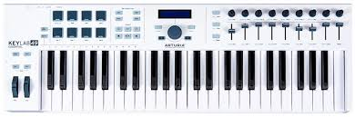 <b>MIDI</b>-<b>клавиатура Arturia KeyLab</b> Essential <b>49</b>, MCI55037, белый