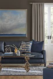 Living Room Brown Sofa 25 Best Ideas About Blue Leather Sofa On Pinterest Leather