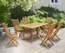 Shelley <b>Folding</b> Rectangular <b>Garden Table and</b> Chairs Set