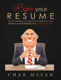 your resume right your resume