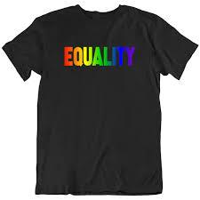 Equality <b>Rainbow</b> Pride <b>Colors Men's</b>/<b>Unisex</b> T-Shirt | Shirt Activism