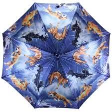 <b>Зонт</b>-<b>трость FLIORAJ</b> 001-12 FJ с принтом, женский — купить в ...