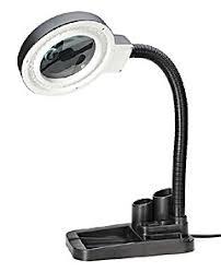 Купить <b>Лупа</b> лампа бестеневая <b>настольная 2x</b>/<b>20x</b>-85мм с ...
