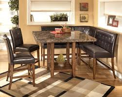 space dining table solutions amazing home design: dining room sets with bench for small spaces amazing home design fancy