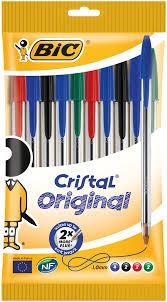Luxor <b>набор шариковых</b> ручек stripes цвет чернил синий 4 шт