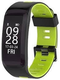 Купить <b>Умный браслет ZDK</b> F4 зеленый по низкой цене с ...