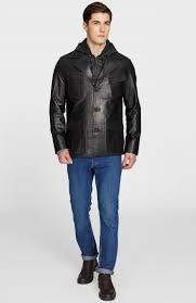 <b>Кожаная куртка с капюшоном</b> мужская, Купить <b>кожаную куртку с</b> ...