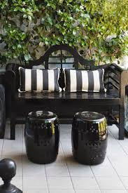 the style saloniste designer i love stephen brady city retreat domestic bliss black and white patio furniture