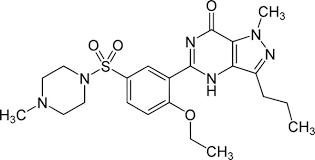 sildenafil   viagra chemical structurethis is the chemical structure of sildenafil    yikrazuul pd