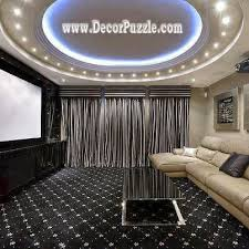luxury gypsum ceiling design 2015 with led ceiling lights for living room ceiling lighting ideas
