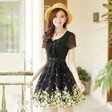 Buy <b>Dowisi</b> Lace Trim Sleeveless <b>Dress</b> | YesStyle I Skirts & <b>Dresses</b> ...