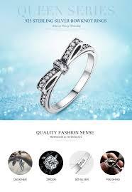 Fashion European <b>Authentic 100</b>% <b>925 Sterling</b> Silver Bow Knot ...