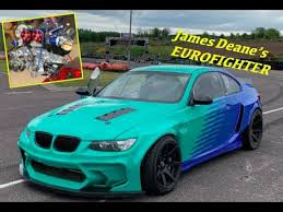 James Dean`s new beast of a driftmachine HGK <b>BMW E92</b>