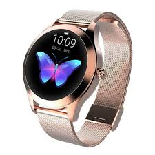 <b>IP68 Waterproof</b> Smart Watch <b>Women Lovely Bracelet</b> Heart Rate ...