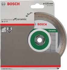 Купить <b>Алмазный диск Bosch Standard</b> Ceramic, 125 мм ...