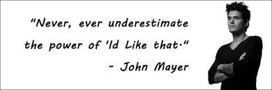 John Mayer quote | The Love of My Life | Pinterest | John Mayer ... via Relatably.com