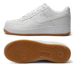 nike air force 1 croc gum pack 3 air force crocodile white
