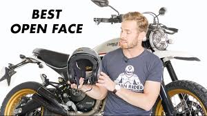 Best <b>Open</b> Face <b>Motorcycle helmets</b> - YouTube