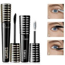 <b>Pudaier 4D</b> Silk Fiber Eyelash <b>Mascara</b> Waterproof Curling Thick ...