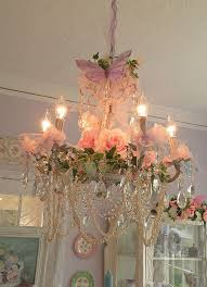 i would love to have something like this in the master bedroom but not so chic pink chandelier pink