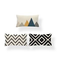 Прямоугольный Чехол на <b>подушку</b>, <b>подушка</b> с геометрическим ...
