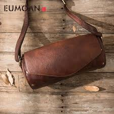 <b>AETOO</b> Large leather <b>handbag</b> vegetable tanned rub color <b>retro</b> tree ...