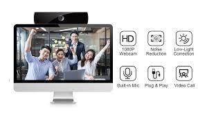 <b>Webcam</b> with Microphone, <b>1080P HD Webcam</b> Streaming <b>Computer</b>