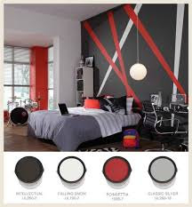 grey and red bedroom theme for a rock and roll bedroom theme try red bedroomastounding striped red black striking