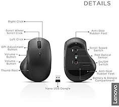 Buy Lenovo 600 Wireless Media Mouse Online at Low ... - Amazon.in
