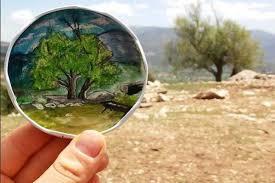 Resim tutkusunu doğaya yansıttı