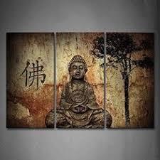 JoJoil <b>Fashion</b> Style Five Panels Sacred <b>Buddha</b> Modern Canvas ...