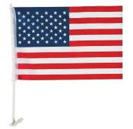 <b>American Car Flags</b> for Window - Quick Shipping