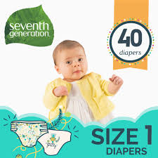 Seventh Generation <b>Free & Clear</b> Baby <b>Diapers</b> with Animal Prints ...