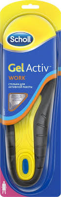 Scholl GelActiv <b>Work</b> Cтельки для <b>активной работы</b> для женщин ...