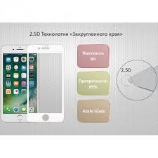 <b>Защитное стекло Ainy Full</b> Screen Cover для Apple iPhone 7 Plus ...