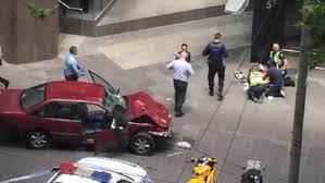 استراليا - اجتياح سيارة لمجمع بورك ستريت مول وسقوط قتلى وجرحى