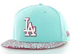 Los Angeles Dodgers Crackle Visor 59Fifty Fitted Baseball Cap by ...