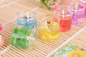 Image result for yellow gel candle mino