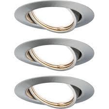 Набор из трех встраиваемых <b>светильников</b> с трехступенчатым ...
