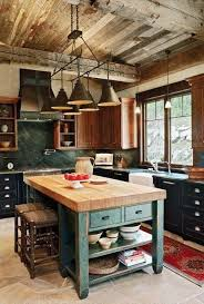 island design ideas designlens extended: i love this light over the island would also love for my office to look this rustic