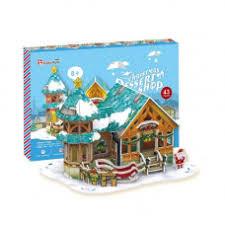 <b>Cubic Fun</b> P649h Кубик фан <b>Рождественский домик</b> 3 (с ...