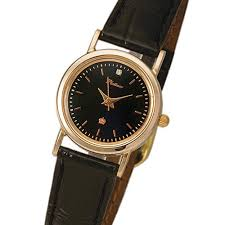 <b>Женские</b> золотые <b>часы</b> Platinor