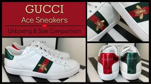 Gucci <b>2018</b> Ace <b>Embroidered Bee</b> Sneakers | Unboxing & Review ...