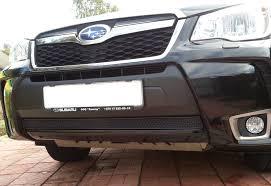 <b>Накладка</b> в <b>низ бампера</b> — Subaru Forester, 2.5 л., 2013 года на ...
