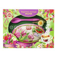 <b>Чай Hilltop</b> Цейлонское утро Розовые Тюльпаны 100 гр цена