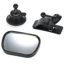 Tirol T22614 <b>Mini Car Baby</b> View Mirror 2 in 1 Car Rear Baby Safety ...